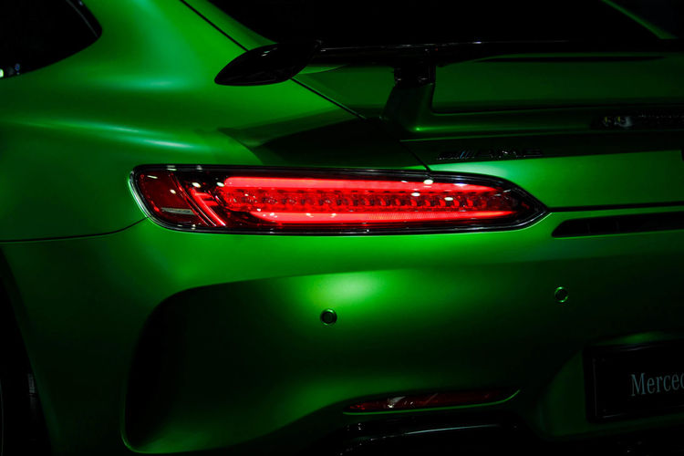 AMG C63 AMG Car Coupè Green Color Mercedes Benz Motorcycle Talelamp First Eyeem Photo