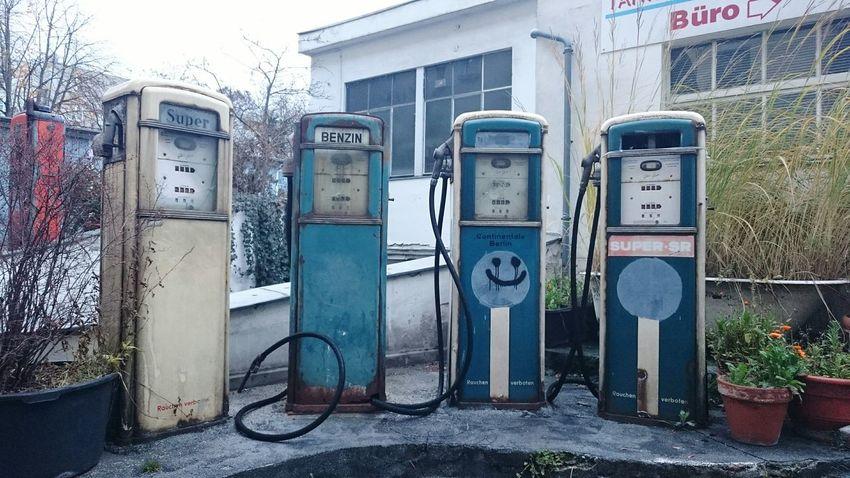 Tankstelle Gas Station Petrol Station Zapfsäule