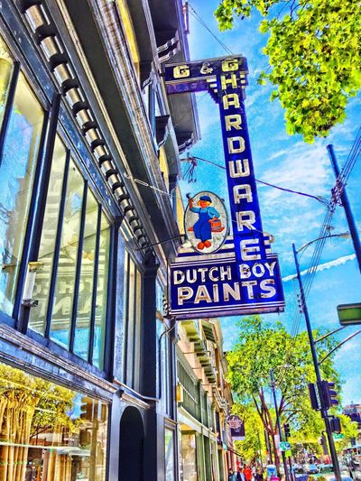 Classic Dutch Boy Paints sign, Oakland, CA Streetphotography