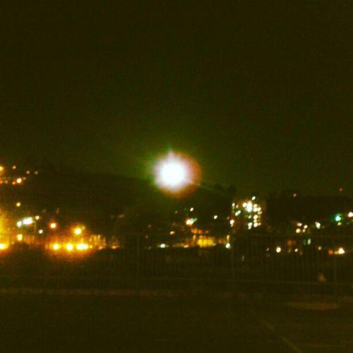 Moonset....