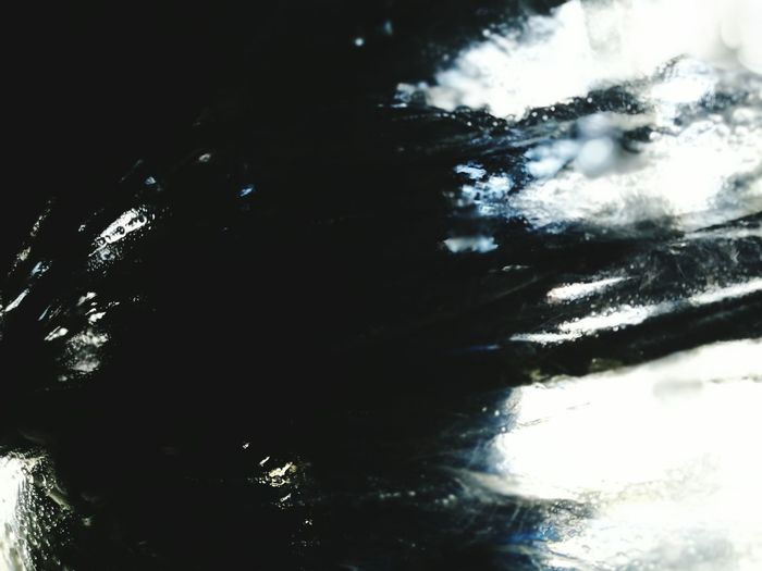 Nightmare. Water No People Close-up Day Outdoors Backgrounds Technology Car Car Lover Car Washing Dark Thoughts Nightmare Scary Car Wash Abstract Abstract Brush EyeEmNewHere Monster Horror