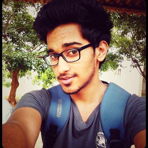 Instagood College Student Teaching Friend Totake A Selfie