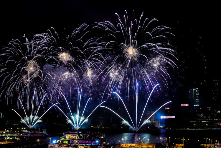 Year of the Pig Fireworks display 2019 Fireworks Fireworksphotography Fireworks In The Sky Hongkong Photos Night Illuminated Celebration Exploding Light City Firework Display NewYear Victoria Harbour, Hong Kong Victoria Harbour Victoriaharbour