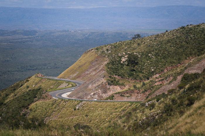 VISTA ROAD TO SQUARE IN CORDOBA ARGENTINA Argentina Camino Córdoba La Falda Landscape Mountain Route