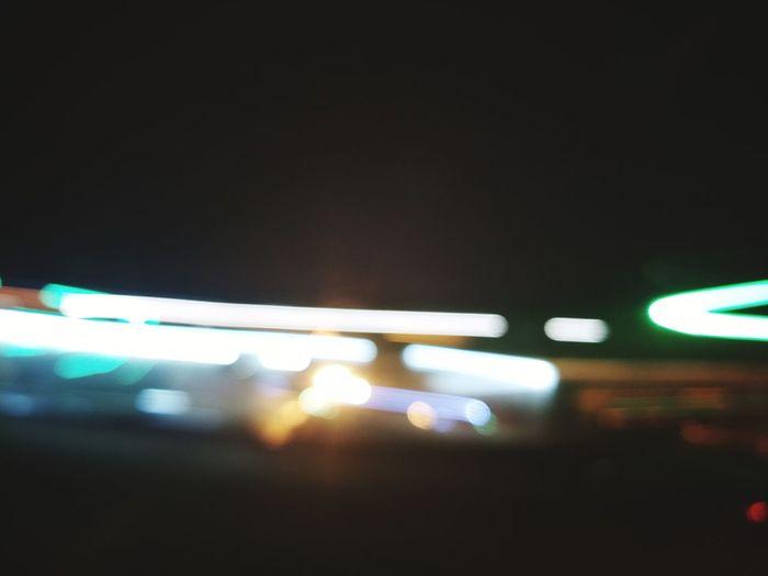 Illuminated Transportation Night Travel Indoors  No People Defocused Neon