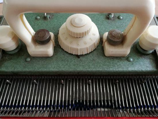 The vintage knitting machine I do most of my vintage knitting on... Vintage Knitting Machine Machinery 1950s Passap Green Enamel Bakelite Sweater Vintage Fashion Huawei HuaweiP9 Leicacamera Smartphone Photography