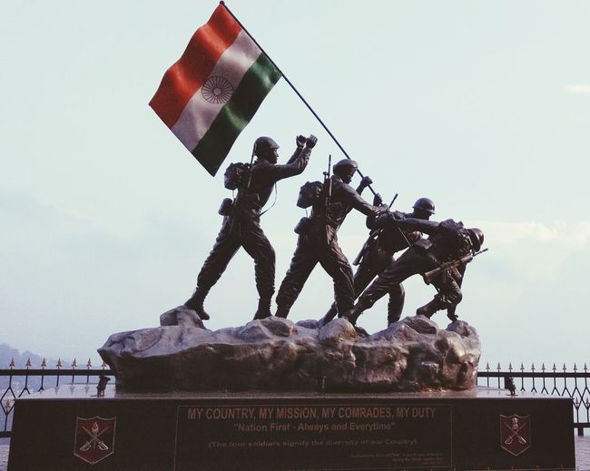 Nation's First-Always and Everytime.Shimla Artrac Himachalpradesh India