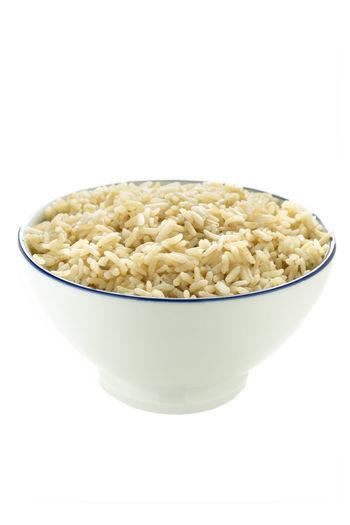 Brown Rice Asian  Bowl Brown Rice Cooked Diet Food Grain Healthy Nutritious Vegetarian Whole Grain Wholegrain