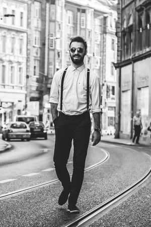 Beard Black And White Black And White Portraits Blackandwhite Cigar Clothes Fashion Flash Hairstyle Light Male Man Model One Person Outfit Portrait Portrait Photography Real People Retro Rustic Shirt Smoke Suspenders Vintage Young Adult