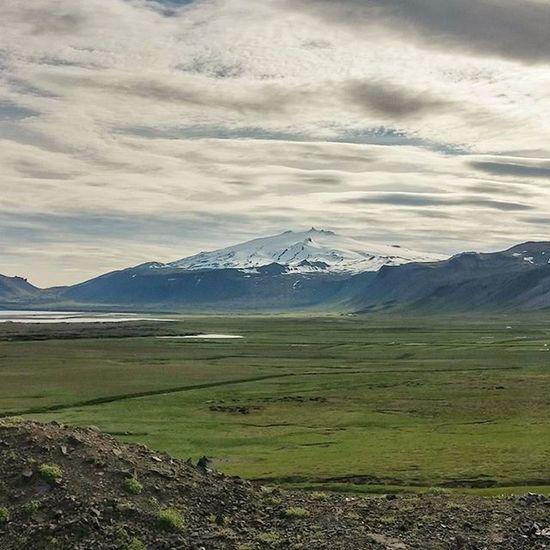 Snæfellsjökull. Iceland Reykjavik Island Instadaily Igscandinavia Igersreykjavik Summer Igiceland Snæfellsnes Glacier Volcano Julesverne