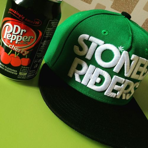 Stoned riders 'n' dr.Pepper Drpepper Cap