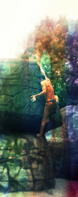 Hanging Out Bouldering Stopping Time Bouldern.<3