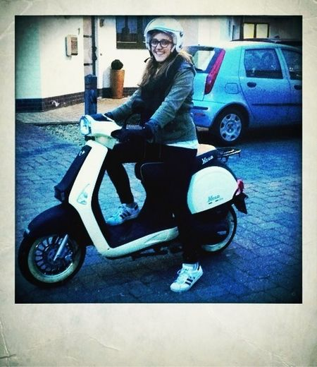 My Sister And Her Scooter