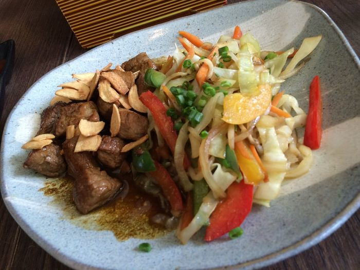 Beef teppanyaki Enjoying A Meal Teppanyaki Beef Latepost