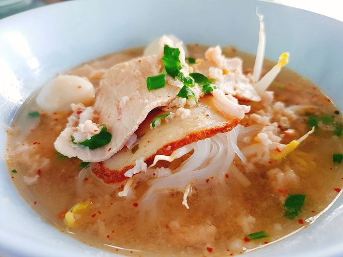 spicy tomyum noodle ( thai style ) City Seafood Food And Drink