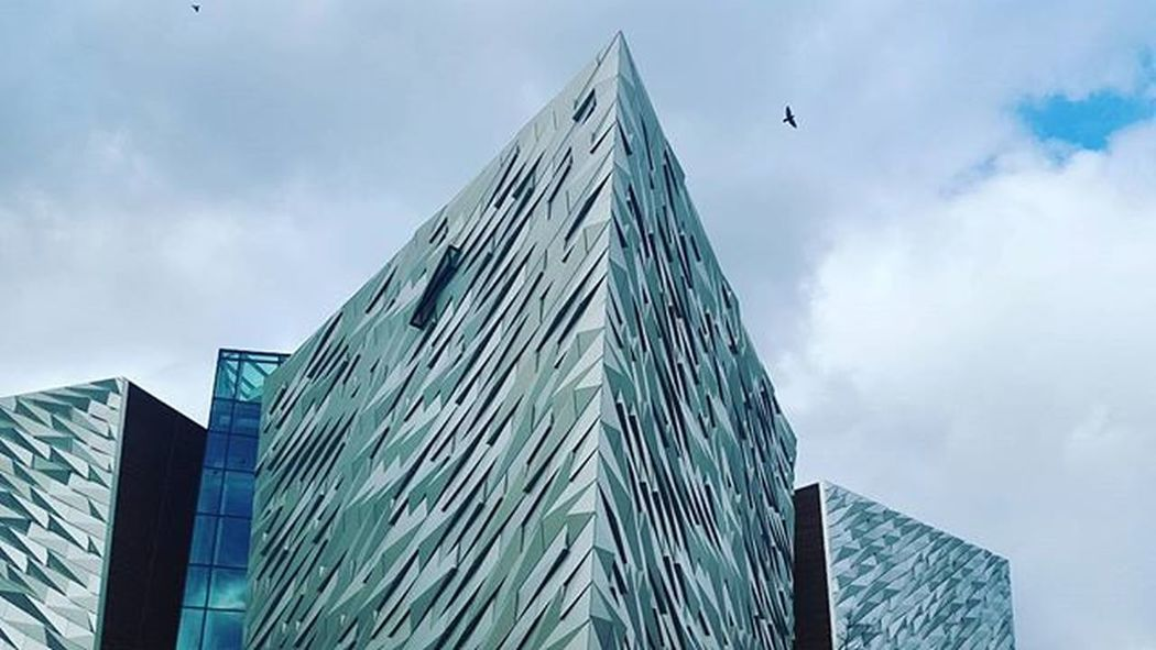 Titanic museum Belfast Irland Visitni Visitbelfast Instabelfast Latergram Vscocam VSCO Vscoirland DiscoverNI Architecture Pointofview Titanicquarter