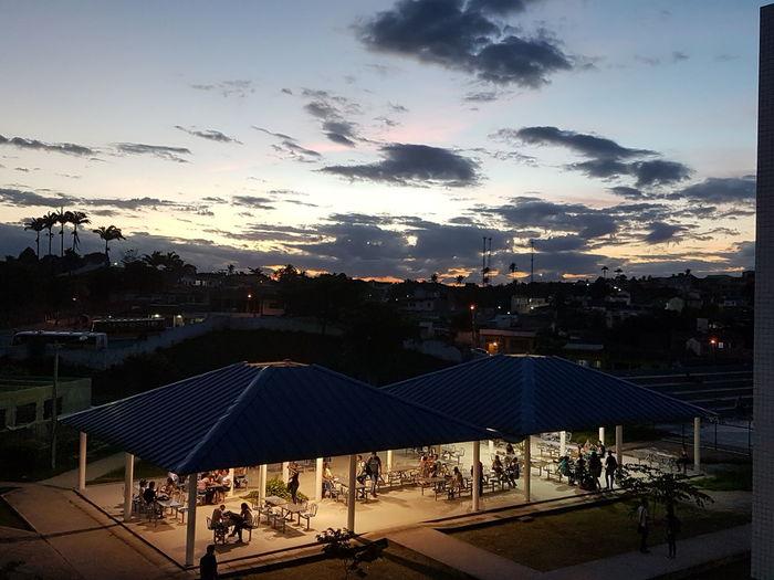 Pôr do sol no Espaço Paulo Freire First Eyeem Photo