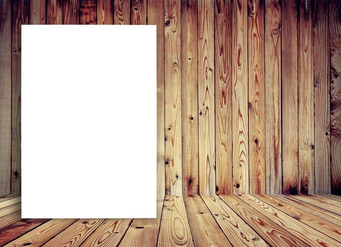 blank white paper on wooden room Room White Board Backgrounds Blank Copy Space Hardwood Floor Indoors  No People Picture Frame White Paper Wood - Material Wooden