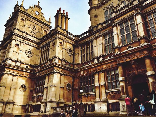 Wollaton Hall Old Buildings