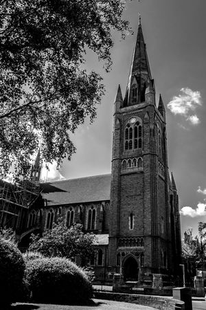 Saint Mathew's Church, Kettering Road, Northampton Northampton Black And White Chuches Monochrome