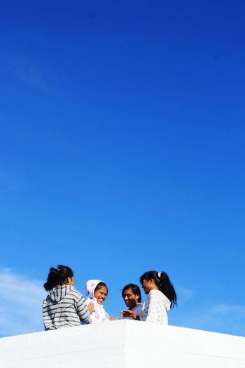 7.Took it 4 years ago. Travelling Smile Girls Ternate Island, Molucca Going On A Boat Ride Sky And Clouds Skyporn Blue Sky