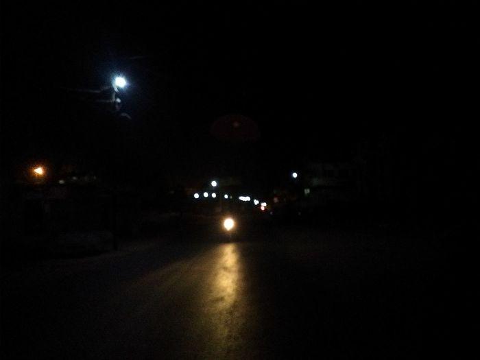 Night Illuminated Car No People Outdoors City Sky