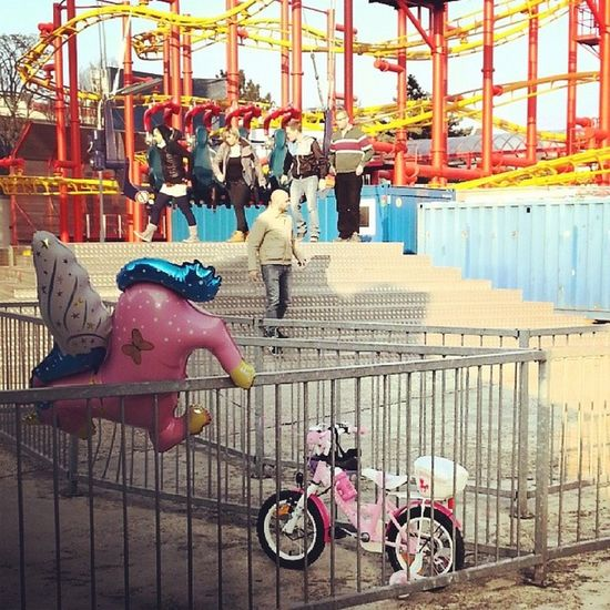 poor unicorn, poor bike - Prater Vienna Citylife Abandonment