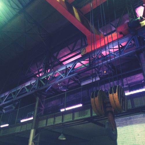 Industrial Steel Factory