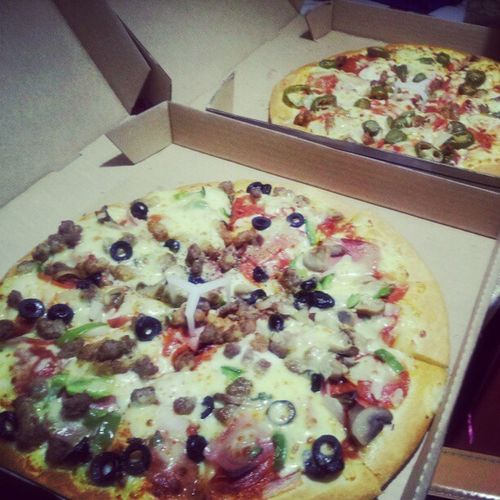 dinner~Pizza