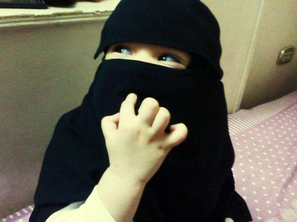 Baby ❤ Niqaab Babylove EyeEm Best Shots Egypt Cairo Love Photography Indoors  First Eyeem Photo Kids