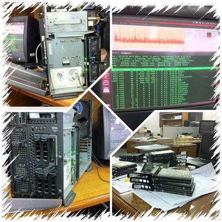 IHaveBig Problem Infra Structure Hardware Server SCSI Dell Linux Windows
