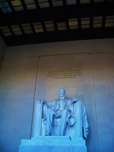 Lincoln Memorial Abraham Lincoln Abraham Lincoln Memorial Abraham Lincoln Statue Architecture Art Blue Building Built Structure Carving - Craft Product Craft Creativity Day Design Lincoln Memorial Low Angle View No People Ornate Outdoors Sculpture Statue Stone Travel Destinations Washington DC Washington, D. C. WashingtonDC Adventures In The City