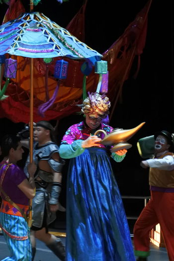 Blue Clown Multi Colored Circus Show Ringling Bros Circusimages Performance People And Places