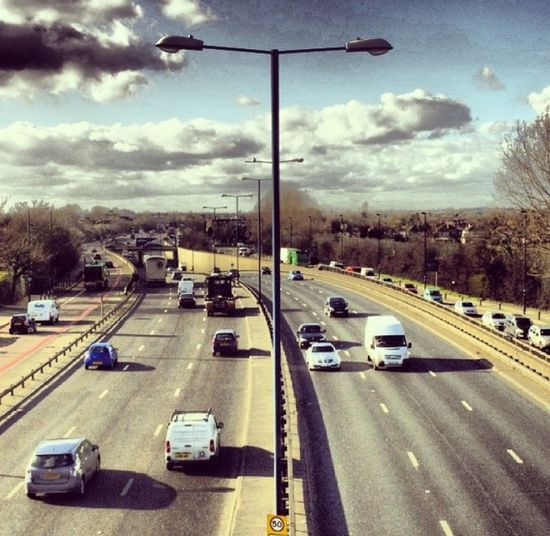 Perivale On The Bridge Looking Down Onto The A40 Towards Oxford.. Architecture Perivale London Landscape Enjoying The View Travel Hello World Roads Europe