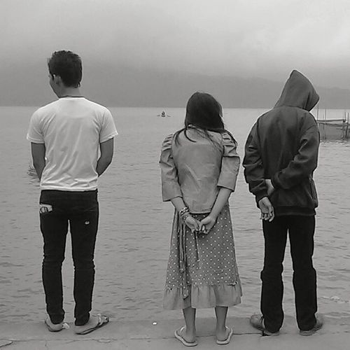 Love Triangle Peoplephotography Bw_collection