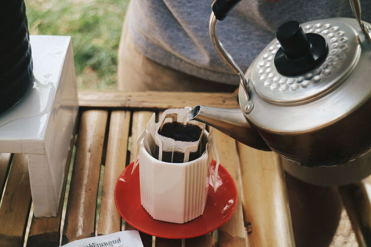 Oil Pump Preparation  Close-up Tea Coffee Maker Coffee Pot Ground Coffee Black Coffee Coffee Espresso Espresso Maker Tea Kettle Camping Stove Jug Froth Art Kettle Milk Jug Beverage Barista Gas Stove Burner