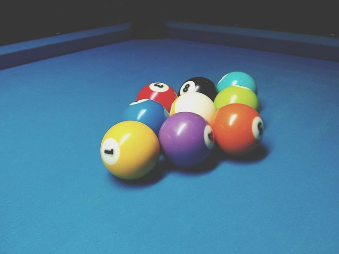 Nine Ball Bar Poolhall Billiards 9 Ball Corner Pocket Scratch Rack Ball In Hand Chaulk EyeEm Selects Indoors  Still Life Sport Pool Ball Variation Pool - Cue Sport No People Pool Table Table Multi Colored Snooker Ball Snooker Close-up Day