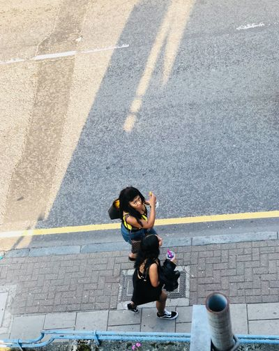 Street chatter Mid Conversation Summer Styles. Young Ladies Beautiful You Urban Spring Fever Urban Skyline Street Photography Youth Fashion The Street Photographer - 2018 EyeEm Awards