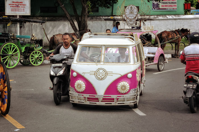 Streetphotography Transportation Street People Outdoors City Yogjakarta INDONESIA