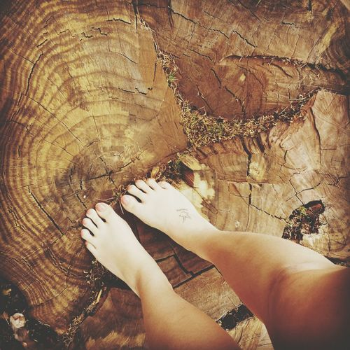 I'm at most peace, when I'm connected to the earth. Tattoo Nature Arizona Barefoot
