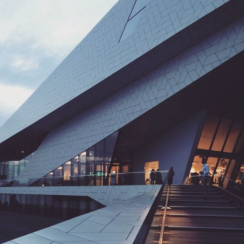 EYE Film Institute Amsterdam Twilight Architecture Your Amsterdam The Architect - 2016 EyeEm Awards