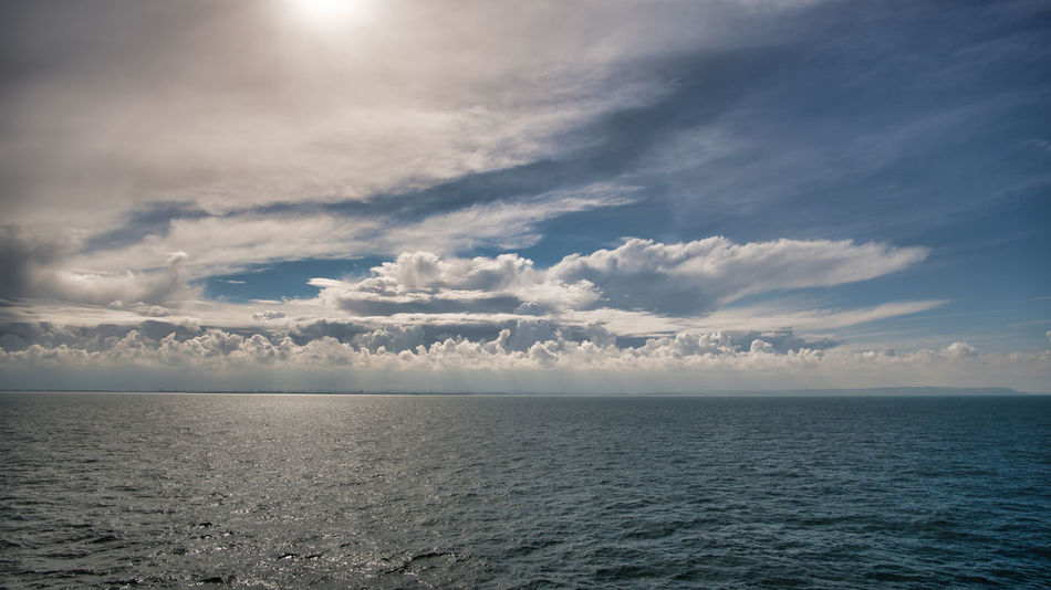 Walimex 12mm Beauty In Nature Cloud - Sky Day Horizon Over Water Idyllic Nature No People Outdoors Rippled Scenics Sea Sky Tranquil Scene Tranquility Water