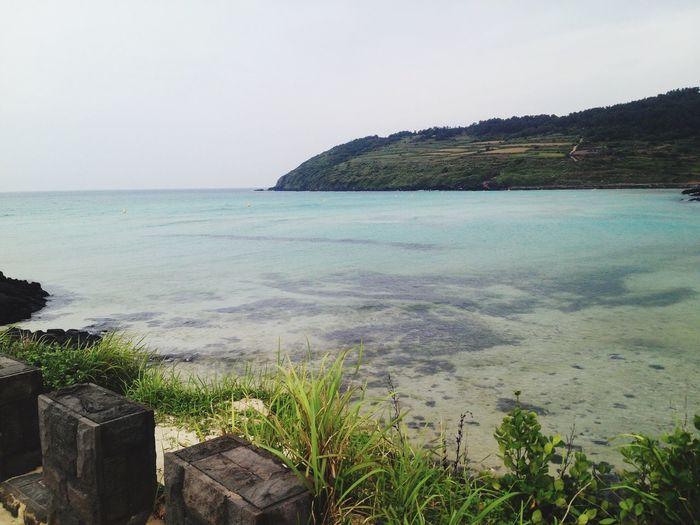 Tourism Korea Nature Ocean Beach JEJU ISLAND  Jeju