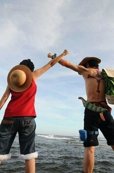 One Piece Monkey. D. Luffy Portugas.D.ace Cosplay One Piece 💜