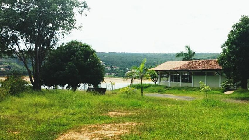 Paisagem Tres Marias Casinha Simples Rio Verde Muito Lindo Tempo Bom