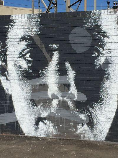 Photographic Approximation Streetart/graffiti Stare Back At You...