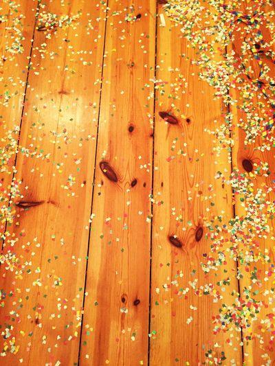 Wooden Floor Confetti