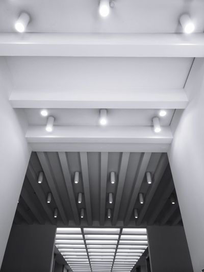 Architecture inside the Triennale Blackandwhite Black And White Milano Triennale Staircase Ceiling