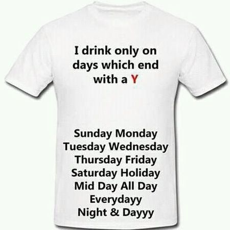 Drinker Alcoholic Drink Beer Wisky Rum Jin Colour Portrait Quotes And Pics I Like Tshirt Thugs