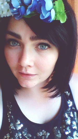 That's Me Blue Eyes